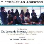 Conferencia Dr. Leonardo Morlino. Sala de Usos Múltiples, IIS - UNAM, 29 de agosto de 2013, a las 12:00. Entrada libre.