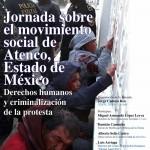 Jornada sobre el movimiento social de Atenco