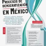 Cartel Diplomado Procesos de democratización en México, 2015