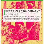 BECAS CLACSO-CONACYT EDICIÓN 2015