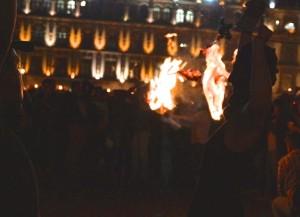 Marcha por Ayotzinapa, noviembre 5, 2014 - Foto: Jesús Gómez Abarca