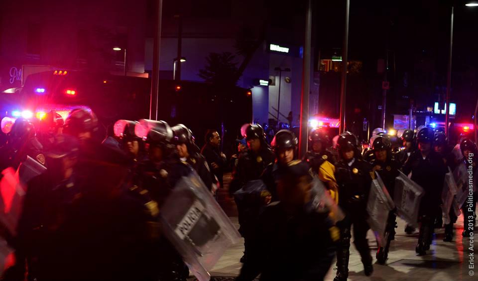 Marcha por la revocación de Enrique Peña Nieto, julio 1, 2014 - Foto: Erick Arceo