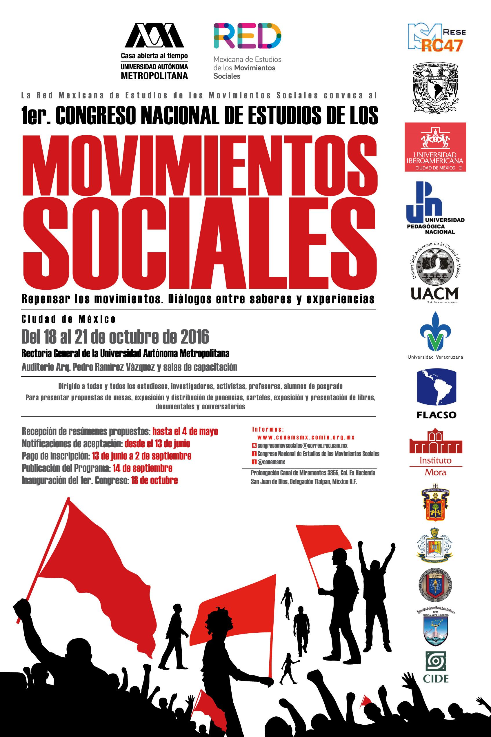 Convocatoria Congreso RED 2016.