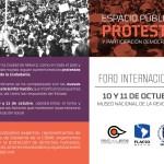 Foro Internacional: Espacio público, protesta y participación democrática
