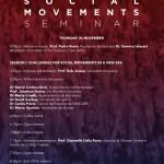 Seminario Movimientos Sociales, Universitat de Girona