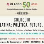 CLACSO 50 años. Coloquio América Latina: Política, Futuro, Igualdad