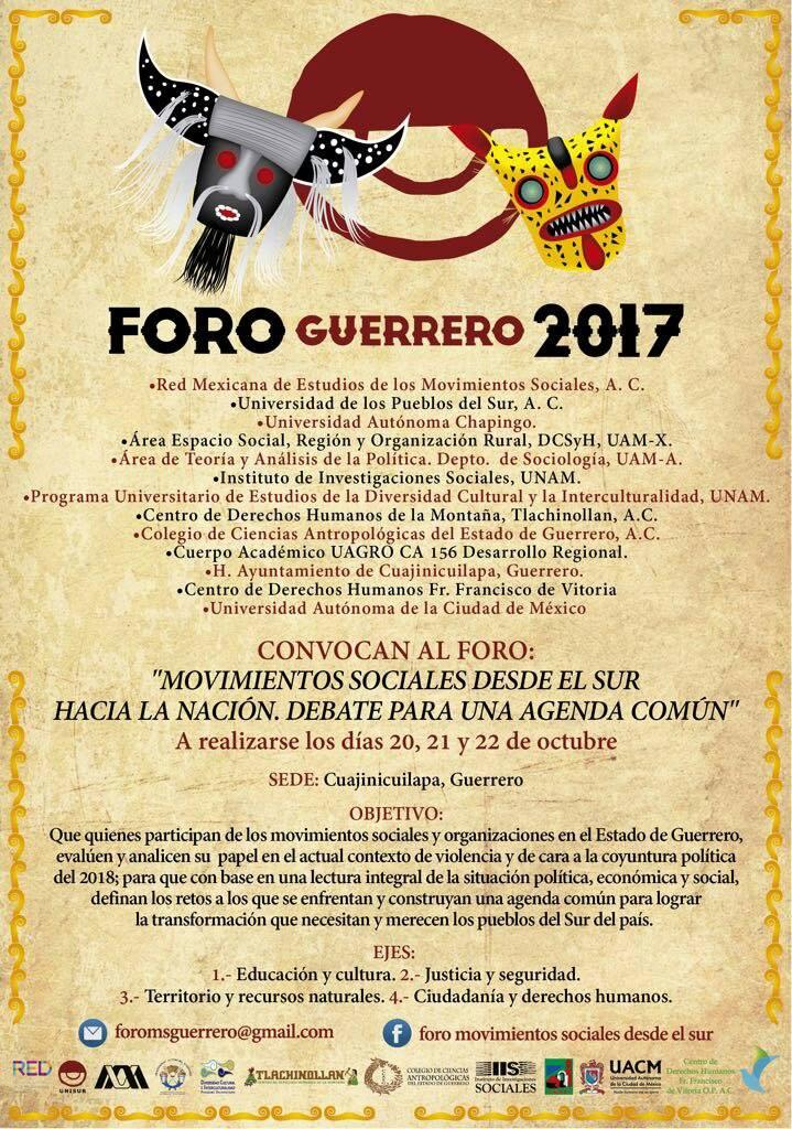 Foro Social Guerrero 2017