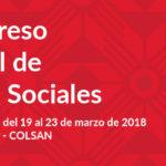 Convocatoria al VI Congreso Nacional de Ciencias Sociales