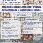 V Coloquio Internacional Movimientos Sociales | FCPyS