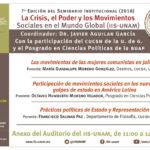 La crisis, el poder y los movimientos sociales en el mundo global
