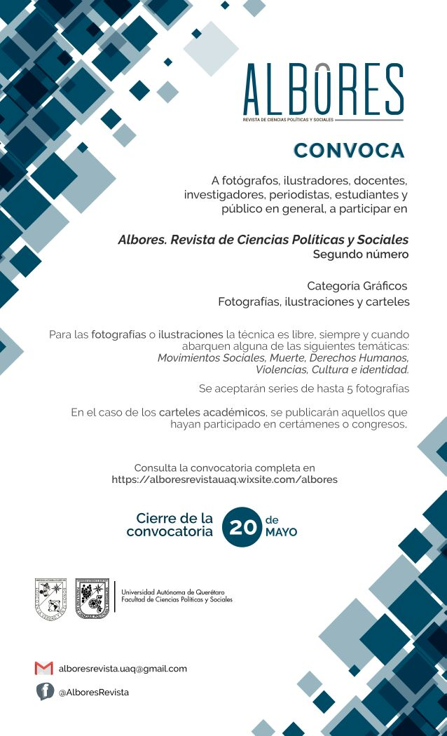 Cartel convocatoria Revista Albores