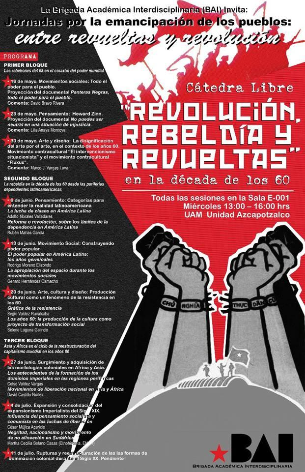 Jornadas por la emancipación de los pueblos