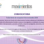 Convocatoria Revista Movimientos