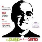 Marcha por la justicia a Monseñor Romero