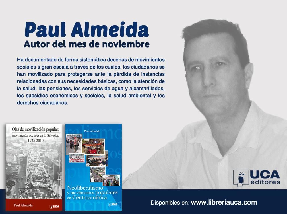 Paul Almeida, autor del mes UCA