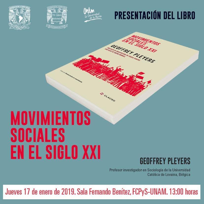 Presentación del libro Movimientos sociales en el siglo XXI