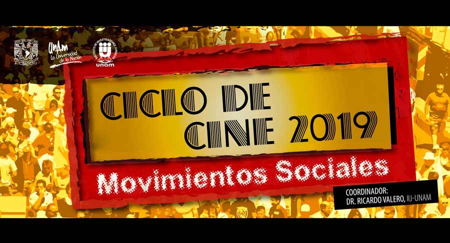Ciclo de cine Movimientos Sociales