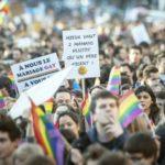 Les mouvements lesbiens, homosexuels et trans