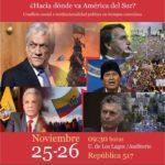 ¿Hacia dónde va América del Sur?