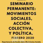 Movimientos sociales, acción colectiva y política (2020)