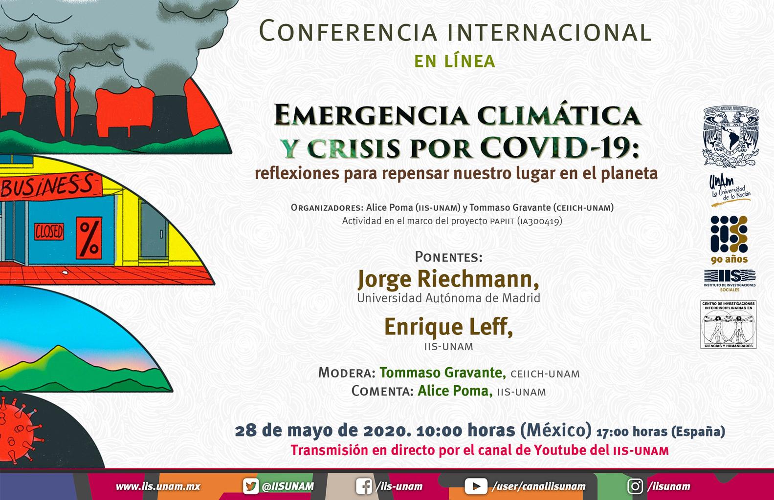 Emergencia climática y crisis por Covid-19