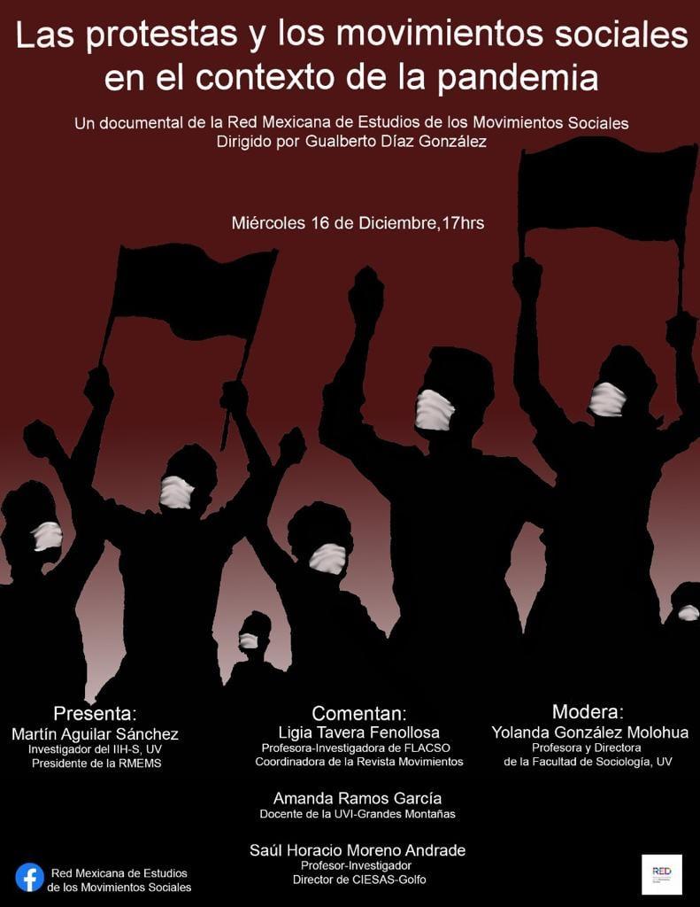 Las protestas y los movimientos sociales en el contexto de la pandemia