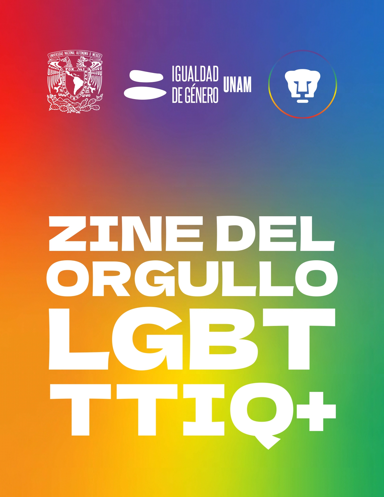 Zine del orgullo LGBTTTIQ+