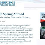 The Arab Spring Abroad
